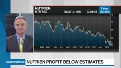 Commodities update: CN Rail CFO on protests; gold climbs; Nutrien profits miss estimates