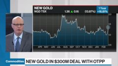 Commodities update: New Gold in $300m deal with OTPP
