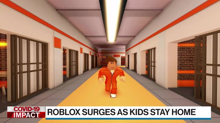 Interactive Online Gaming Platform Roblox Surges As Kids Stay Home
