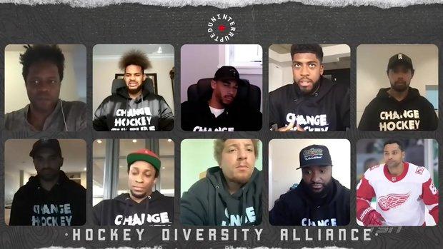 Hockey Diversity Alliance discuss being minorities in a predominantly white sport