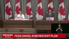 Feds unveil $19B restart plan
