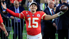 Patrick Mahomes dropped a chilling hype video after signing his Chiefs extension