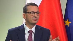 Poland's Morawiecki on Zloty, Russia Gas Pipeline