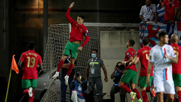 FIFA World Cup Qualifying: Portugal 5, Luxembourg 0