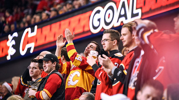 Flames can't wait to play in front of a full house again