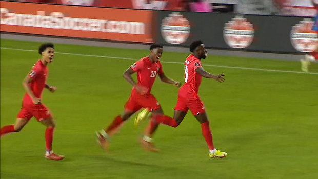Must See: Davies shows off blazing speed, scores crucial goal for Canada