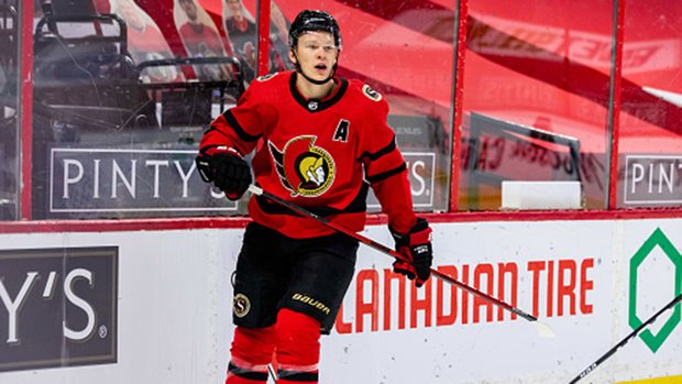 Tkachuk returns to Sens' practice: 'Great to be out there with the guys'