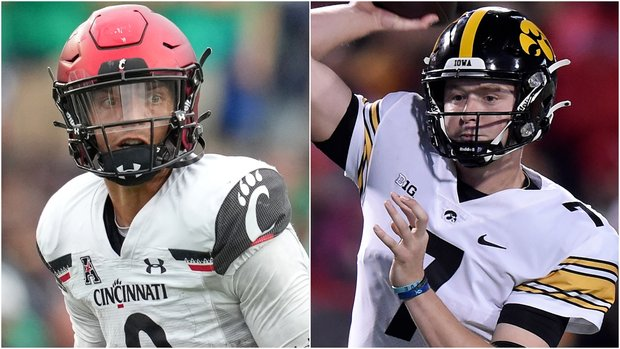 The numbers behind Cincy's and Iowa's unlikely pushes for CFP berths