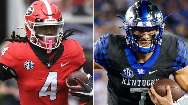 Georgia, Kentucky talk up their big SEC matchup