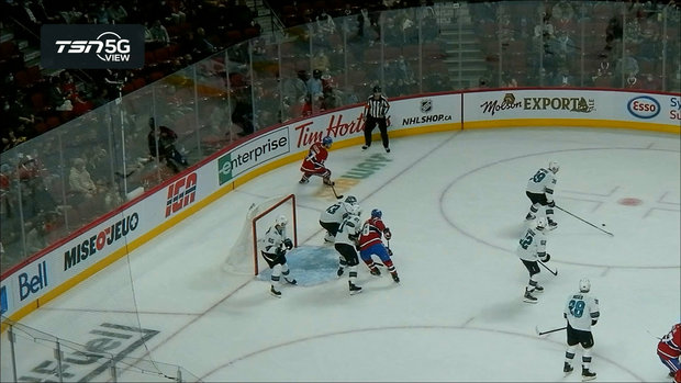 TSN 5G View: Dvorak nearly nets his first goal as a Canadien
