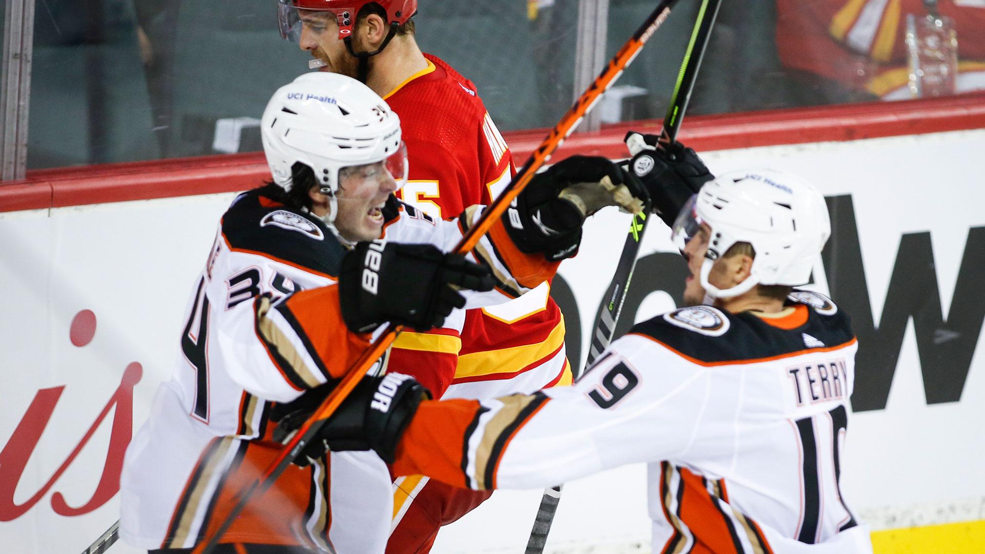 NHL: Ducks 3, Flames 2 (OT)