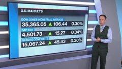 BNN Bloomberg's mid-morning market update: Oct. 19, 2021