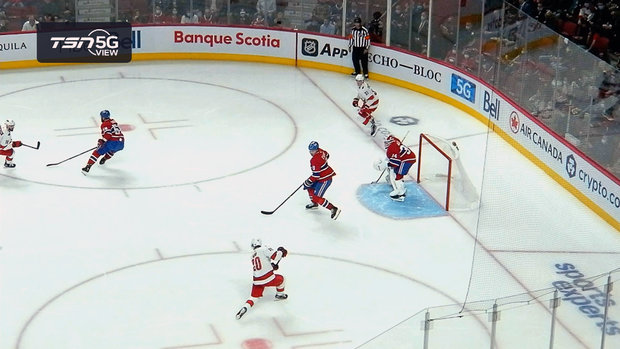 TSN 5G View: Aho snipes one-timer on power play to give Canes the lead