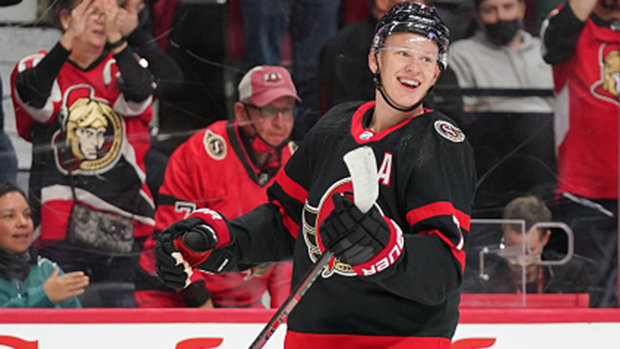 How did Tkachuk look in his first game back?