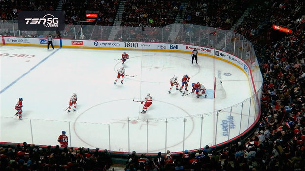 TSN 5G View: Gallagher's goal called off after contact with Andersen