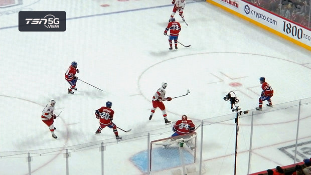 TSN 5G View: Kotkaniemi tips in goal against former team as Canes restore two-goal lead