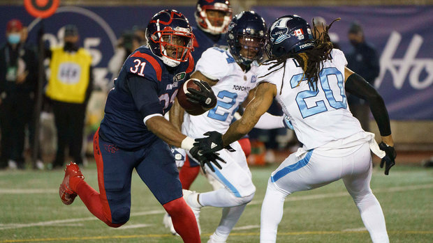 Stanback carries Alouettes to victory in East Division showdown with Argos