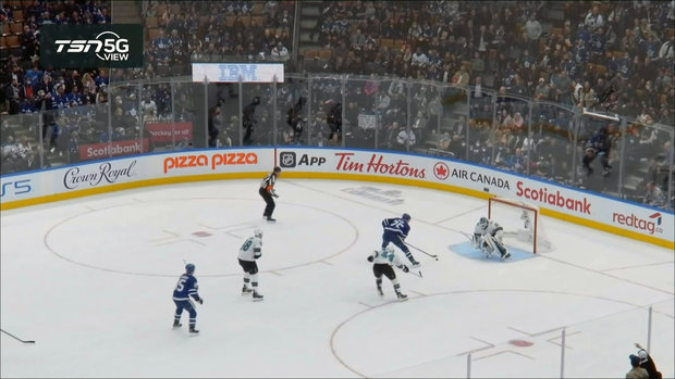 TSN 5G View: Kase undresses Hill to score a beauty for Maple Leafs