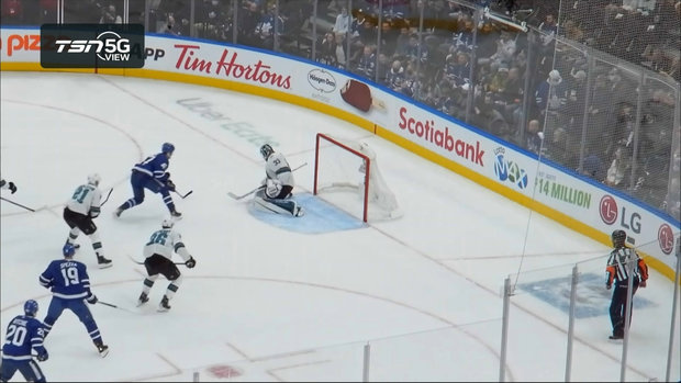 TSN 5G View: Spezza tees up Engvall but he can't get it past Hill