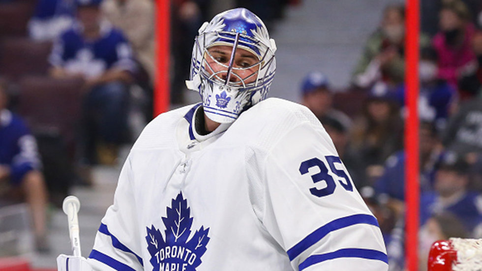 Mrazek (groin) progressing well; will travel with Leafs on upcoming trip