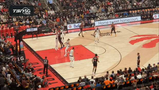 TSN 5G View: Anunoby brushes off Doncic for big slam