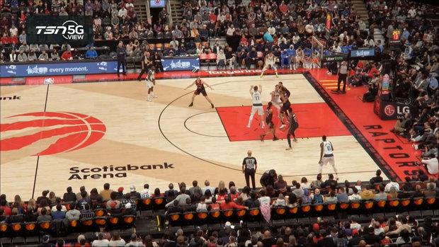 TSN 5G View: Doncic assists on Mavericks' three-pointer