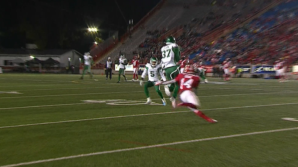 Fresh faces help Roughriders to a long-awaited victory over Stampeders