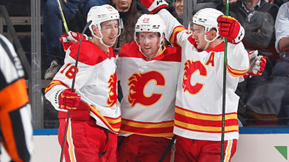 Coleman-Backlund-Pitlick line picking up steam as chemistry brews in Calgary