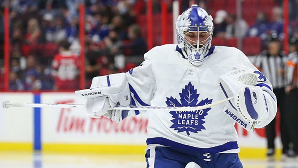 Feeling better, Mrazek hopes to return to Leafs lineup 'in a few days'