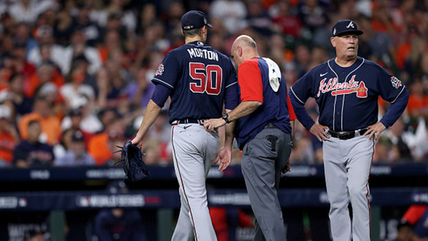 How significant is the loss of Morton for the Braves?