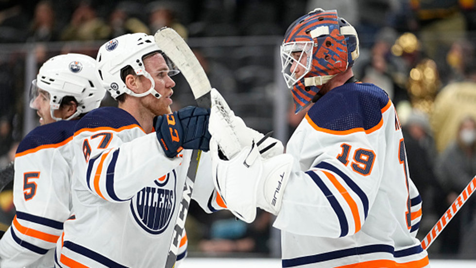 What's been the difference in the Oilers' start this season?