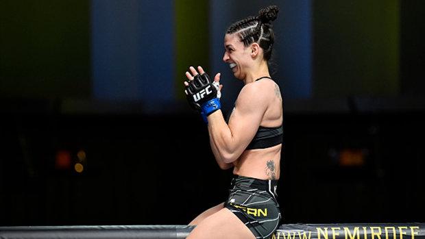 Dern discusses her first UFC main event