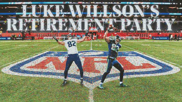 Luke Willson's Retirement Party: Early favourite for NFL MVP