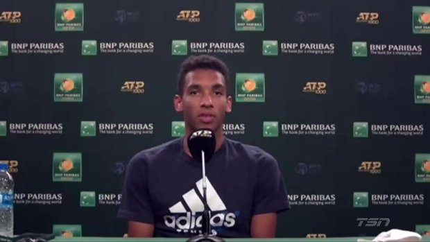 Auger-Aliassime: I'm motivated to make the Tour Finals and be top-10