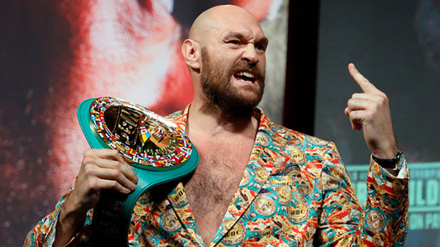 Fury and Wilder make weight ahead of highly-anticipated trilogy clash
