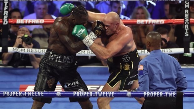 Fury-Wilder ready to join the storied history of the heavyweight trilogy