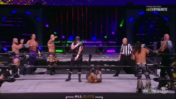 AEW Dynamite Match of the Night: The Young Bucks & The Good Brothers vs. Dark Order