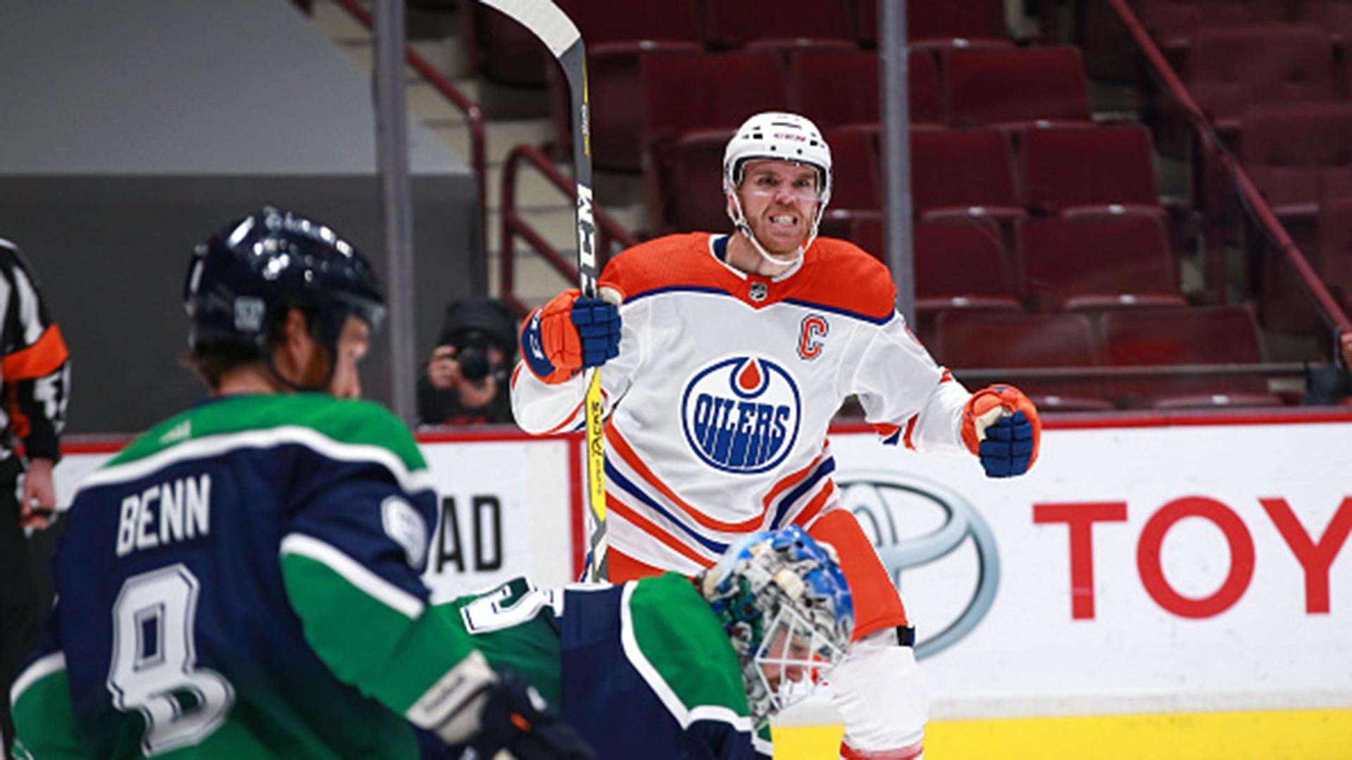 NHL: Oilers 4, Canucks 3