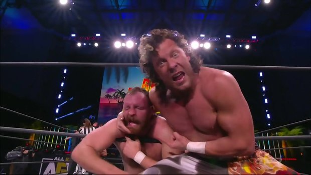 AEW Dynamite Match of the Night: Kenny Omega & The Good Brothers vs. Jon Moxley & Death Triangle