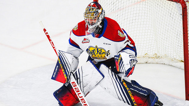 What makes Sebastian Cossa a strong pick between the pipes?
