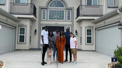 'She's a superhero': Siakam discusses emotion of giving his mom a house