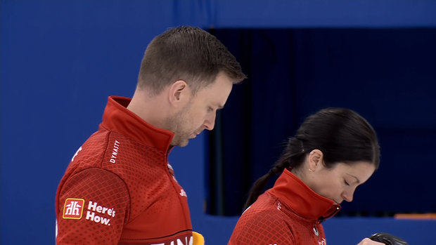 World Mixed Doubles Curling Championship: Qualification - Canada 7, Switzerland 6