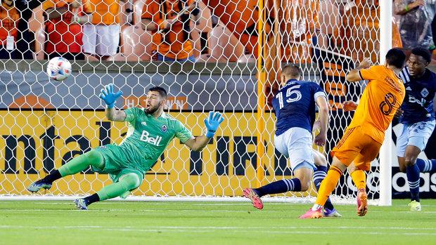 MLS: Dynamo 2, Whitecaps 1