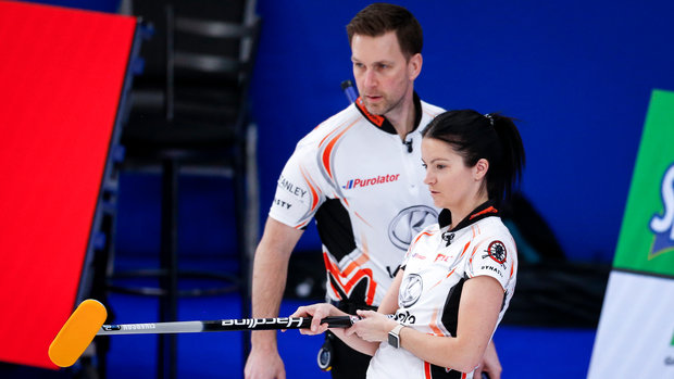 World Mixed Doubles Curling Championship: Bronze - Sweden 7, Canada 4