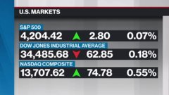 BNN Bloomberg's mid-morning market update: May 7, 2021
