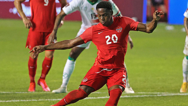David on connection with Davies, goal scoring record, clash with Haiti