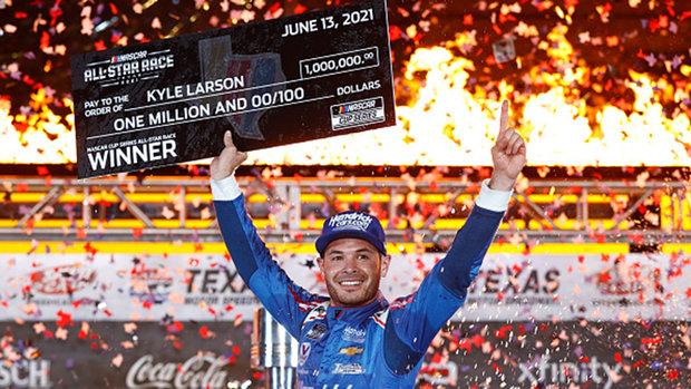 Larson wins second career NASCAR All-Star race