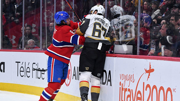Habs on playing Pacioretty: 'There's no friends' in Final Four