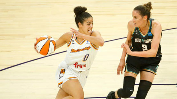 WNBA: Liberty 85, Mercury 83