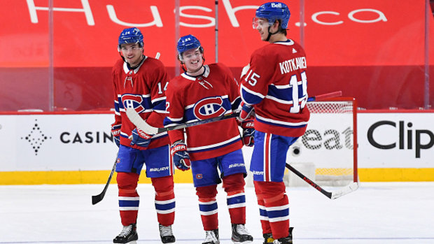 Will young Habs be a factor against deep, strong Vegas team?